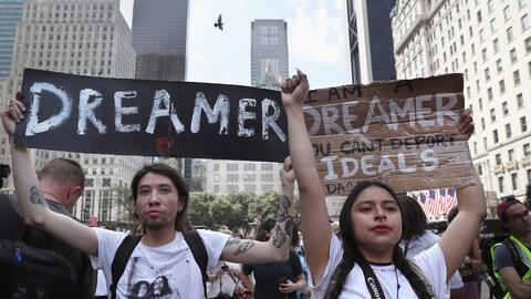 El gobierno de Donald Trump cancelò el programa que protege de la deport...