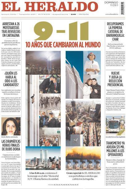 Cortesía de El Heraldo de Barranquilla, Colombia, vía Newseum.