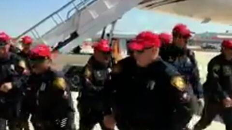 Más de 12 policías de San Antonio serán sancionados por usar gorras de l...