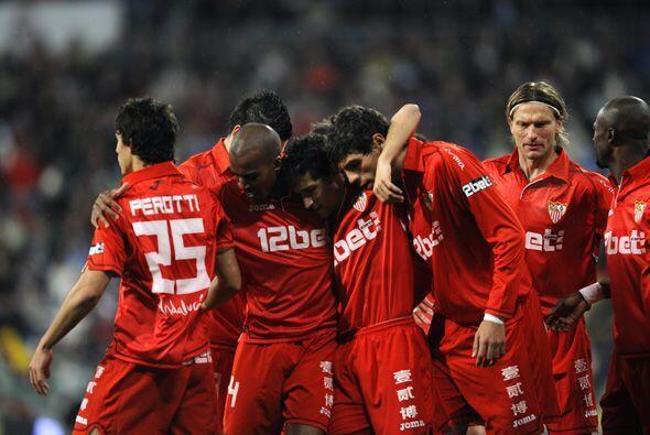 El Sevilla tuvo casi derrotado al Real Madrid, ya que tenía una ventaja...