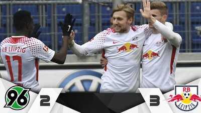 Hannover vende caro la derrota ante el Leipzig, pero sigue en crisis