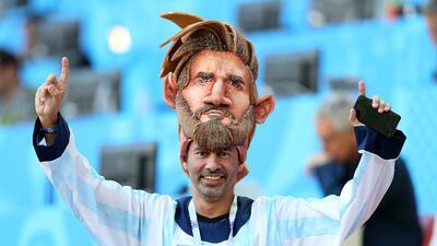 Lionel Messi llena de ilusión a la fanaticada de Argentina en el duelo contra Islandia