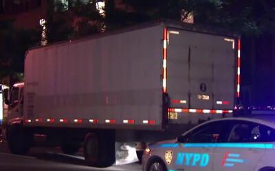 'Nueva York en un Minuto': un ciclista murió al ser atropellado por un c...