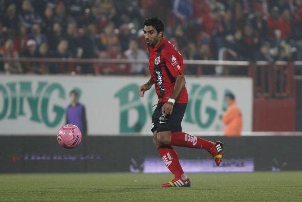 Anotó el gol de la victoria ante Rayados de Monterrey al minuto 8...