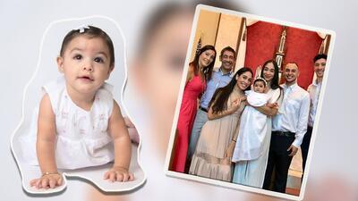 Amaia Rose, bautizo
