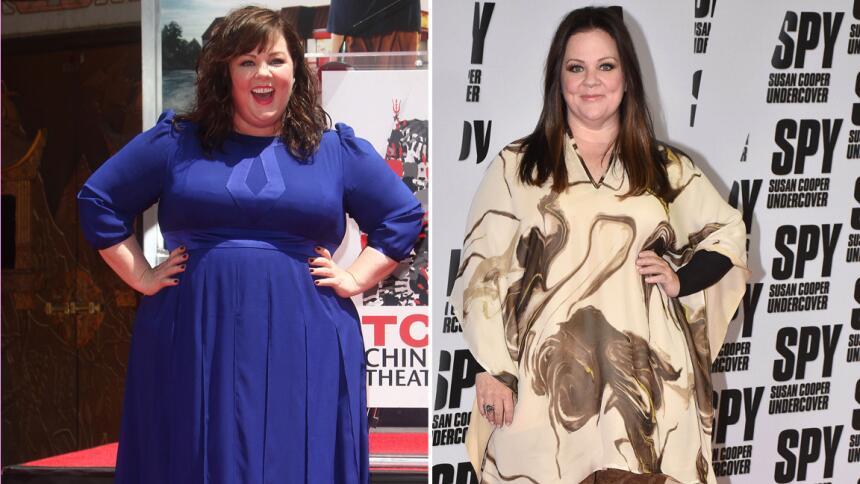 ¡Melissa McCarthy bajó de peso!