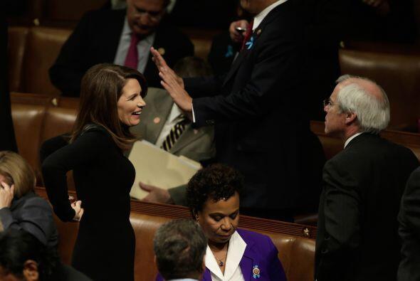 También la congresista republicana Michele Bachmann.
