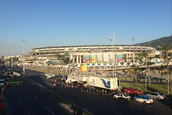 Este es uno de los estadios más importantes de Brasil, y donde se están...