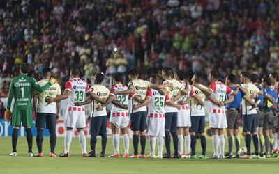 El fútbol mexicano se solidariza con Barcelona