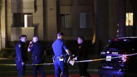 Autoridades investigan un tiroteo mortal que se registró el domin...