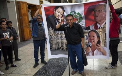 Un critica a los políticos peruanos minutos después de que...