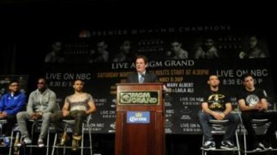 Los participantes de Premier Boxing Champions prometieron guerra (Foto....