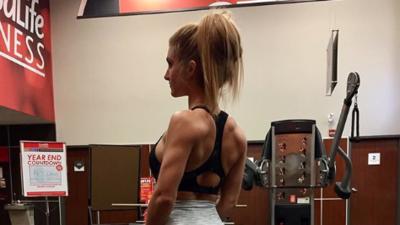 Victoria McDonald y sus impresionantes resultados en el gimnasio