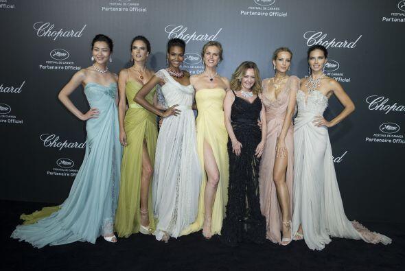 ¡Ellas son sólo algunas de las modelos que se han paseado por la 67 edic...
