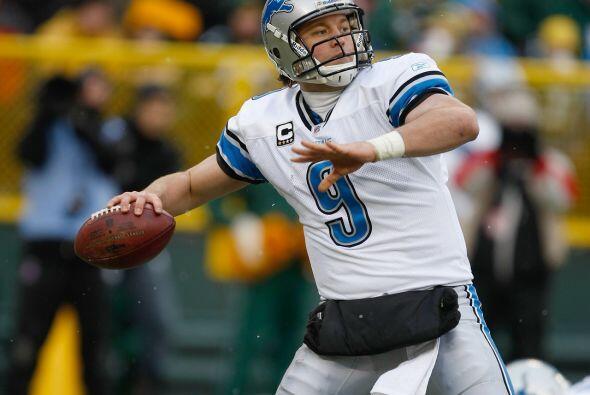 7. Matthew Stafford - 520 yardas: Detroit Lions vs. Green Bay Packers, 1...