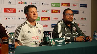 El timonel mexicano expresó sus ideas a un día de enfrenta...