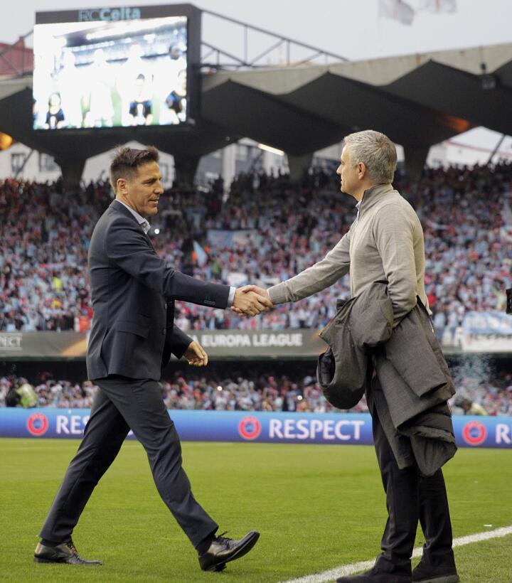 Un solitario gol de Rashford le dio la ventaja al United sobre el Celta...