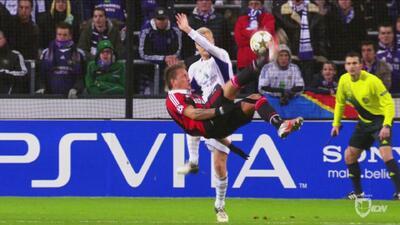 Los 10 mejores | Philippe Mexés anotó un gol de otro planeta con el Milan frente al Anderlecht
