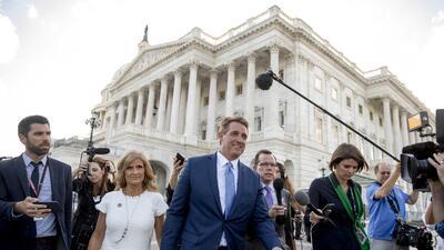 En fotos: Los tres mosqueteros del Senado contra Donald Trump