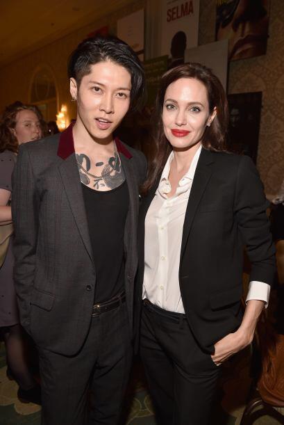 Angelina Jolie con Takamasa Ishihara