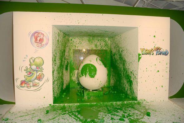 El divertido Yoshi ofreció una fiesta súper divertida que...