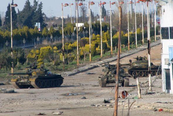 Aunque el régimen desmintió categóricamente haber usado armas químicas,...