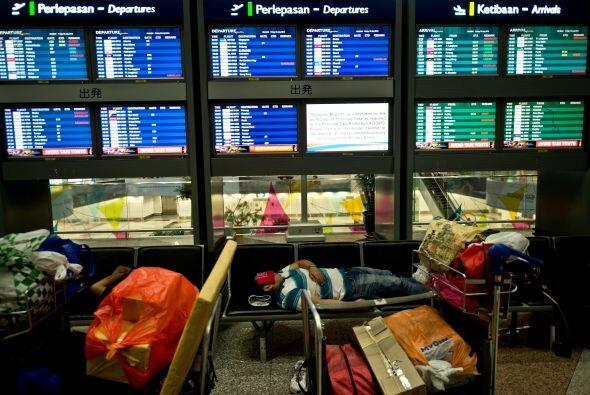 El vuelo MH17 del Malaysia Airlines nunca llegó.