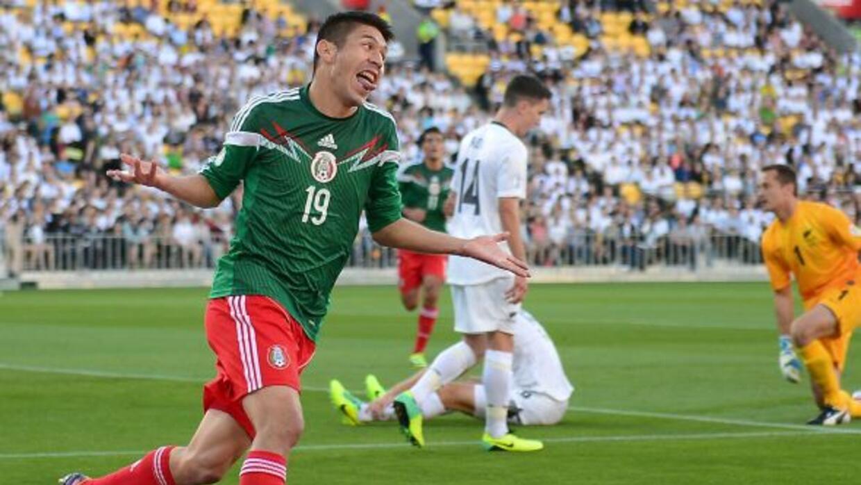 Nueva Zelanda 2-4 México: el Tri va al Mundial de Brasil