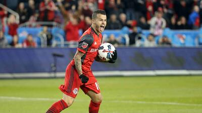 Sebastián Giovinco celebra golazo Toronto FC vs. Atlanta United