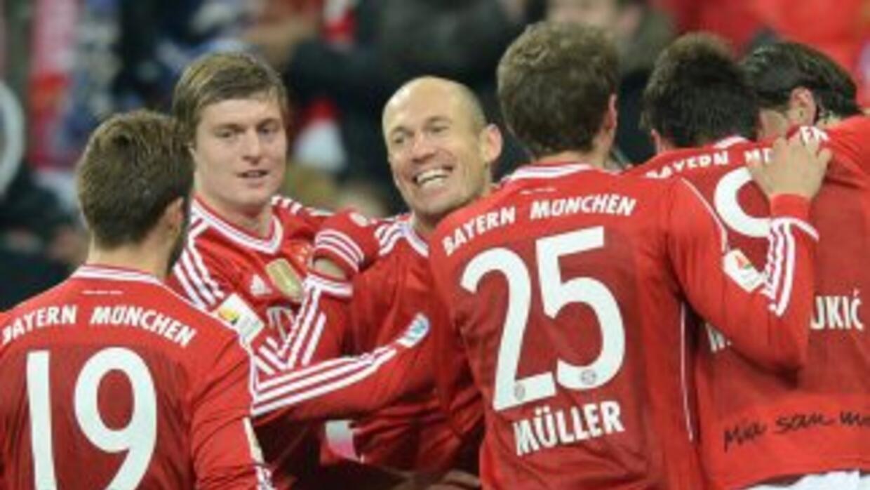 Báyern Múnich venció al Leverkusen y sigue su paseo por la Bundesliga.