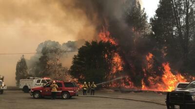 Declaran estado de emergencia en el norte de California por voraz incendio que amenaza 600 casas