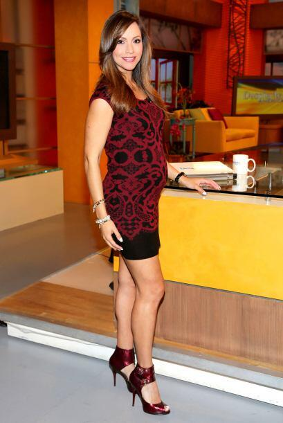 Satcha es el vivo ejemplo de que se puede estar embarazada y lucir a la...