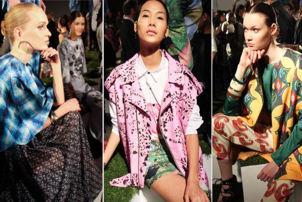 Las últimas tendencias en moda ya han comenzado a presumirse en la Gran...