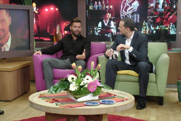 Ricky abrió su corazón en la entrevista con los chicos.