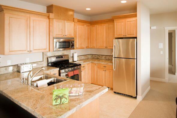 Las cocinas pequeñas muchas veces resultan más útiles que las gigantesca...