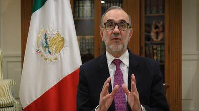 El embajador de México en Estados Unidos, Carlos Manuel Sada.