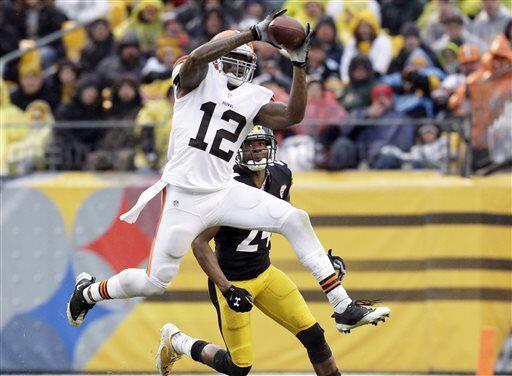 Josh Gordon, receptor de los Cleveland Browns (AP-NFL)