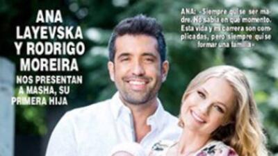 Ana Layevska mostró a su bebé por primera vez