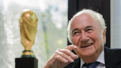 Joseph Blatter, presidente de la FIFA.