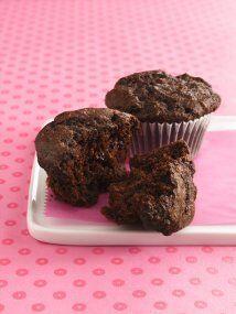 Panquecitos de Chocolate: Los amantes del chocolate encontraron su postr...