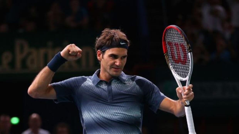 Federer se impuso a Del Potro e irá por su pase a la final en Bercy ante...