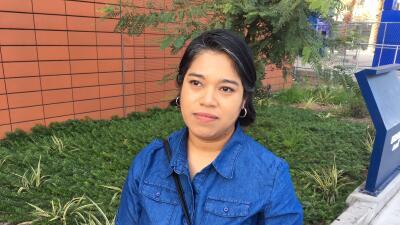 La salvadoreña Verónica Lagunas se ha beneficiado del prog...