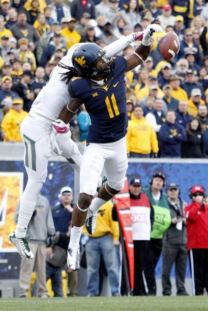 Selección 4 Oakland Raiders: WR Kevin White, West Virginia.