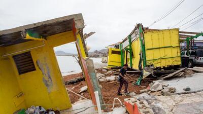 Vieques: el paraíso tropical boricua que fue destruido por el huracán María (fotos)