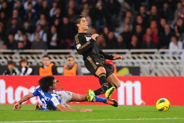 Real Madrid se mantiene como puntero luego de vencer a la Real Sociedad.