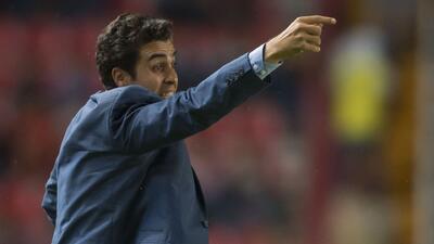 """Michel Leaño: """"Necaxa tiene que aspirar a lo más grande donde participe"""""""