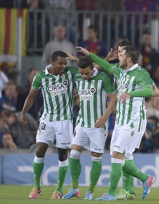 En el 2012 llegó Dorlan Pabón al Real Betis a préstamo desde el Parma. M...