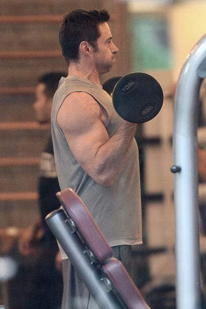 Ahí como lo ven, los músculos de Hugh Jackman no son solo gracias a las...