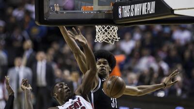 Las mejores imágenes del  Heat vs Nets en la Arena Ciudad de México