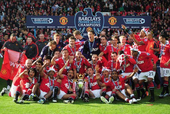 El Manchester United es el club más ganador de Inglaterra. Se acaba de c...